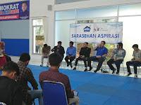 Potensi Desa untuk Kembangkan Peluang Usaha? Ini kata Ketua APDESI Lampung di Ruang Aspirasi Fraksi Demokrat