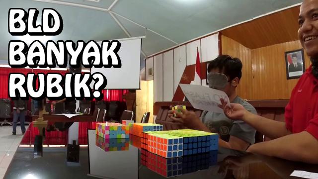 Top 5 Cuber yang mampu menylesaikan belasan hingga puluhan rubik dalam kondisi mata tertutup di Indonesia