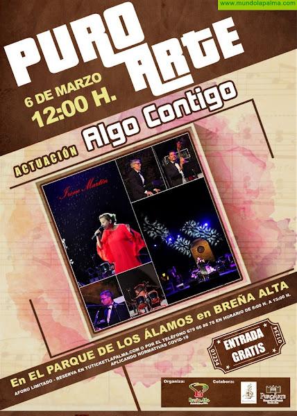 El espectáculo 'Algo Contigo' llega este sábado a Breña Alta con el protagonismo de los boleros