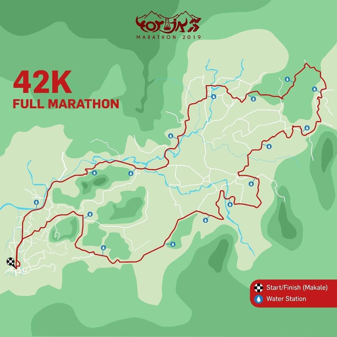 42K 👟 Toraja Marathon • 2019/2020