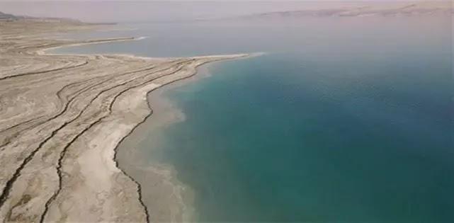 شاطئ البحر الميت