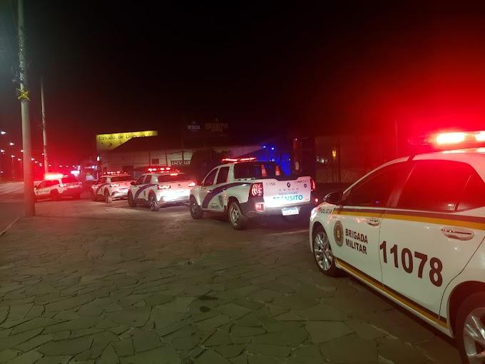BM realiza operação integrada contra o barulho e aglomerações em Cachoeirinha
