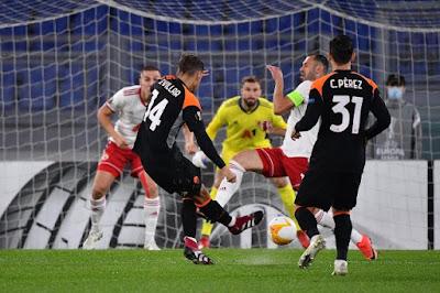 ملخص مباراة روما ضد سيسكا صوفيا (0-0) في الدوري الاوربي