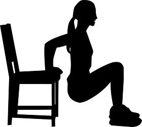 شد ترهلات الجسم تمرين الذراع