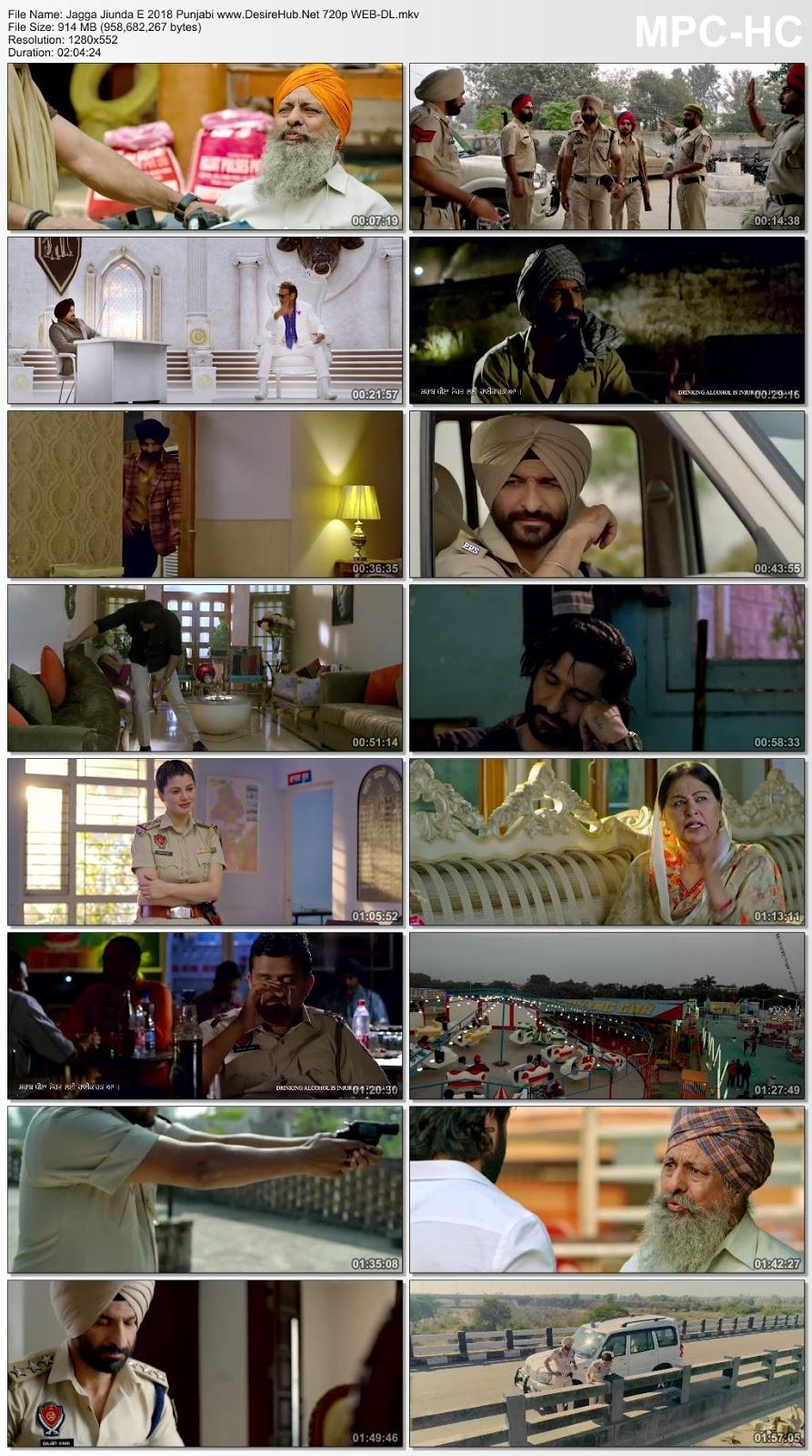 Jagga Jiunda E (2018) Punjabi 720p WEB-DL 950MB Desirehub