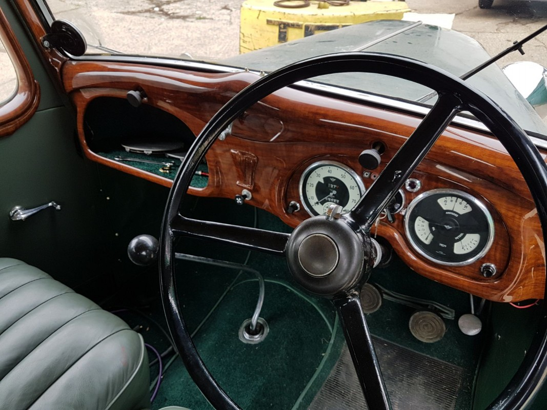 COMING TO AUCTION From Classic Chatter: 1938 AUSTIN 6 Fully Restored ...