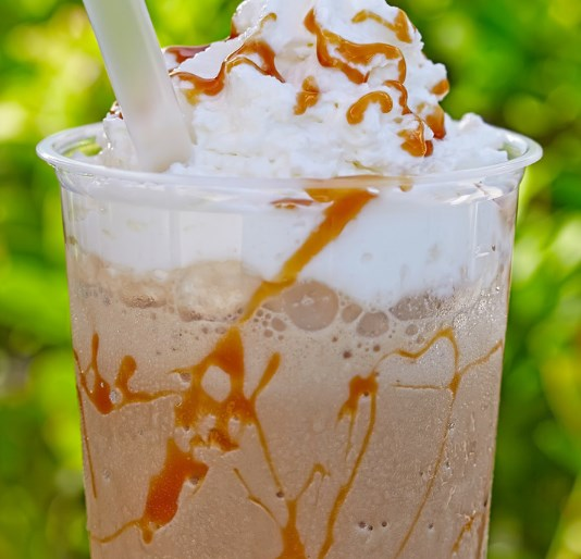 Sugar-Free Caramel Frappuccino Recipe (Keto Style) #drinks #healthy