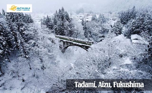 Tadami-Những điểm đến Nhật Bản đẹp nhất vào mùa đông