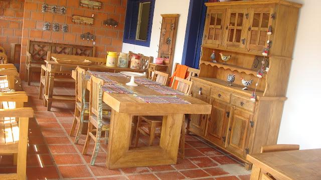 Casa da fazenda m veis for Ambiente rustico