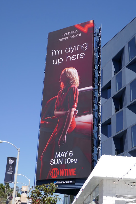 Im Dying Up Here 2 billboard