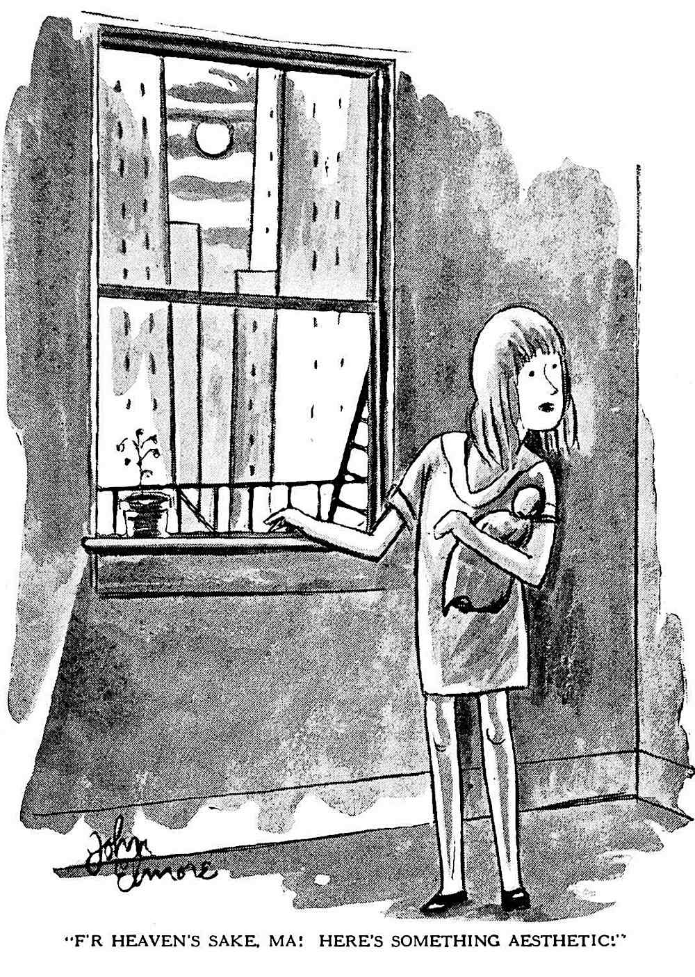 a 1929 Canadian cartoon about poverty