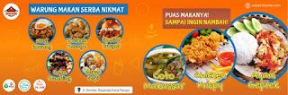 Download Spanduk Makanan Gratis