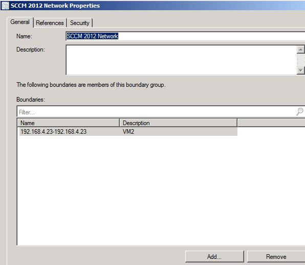 Using the Client Push Installation Wizard in SCCM 2012 | NETvNext Blog