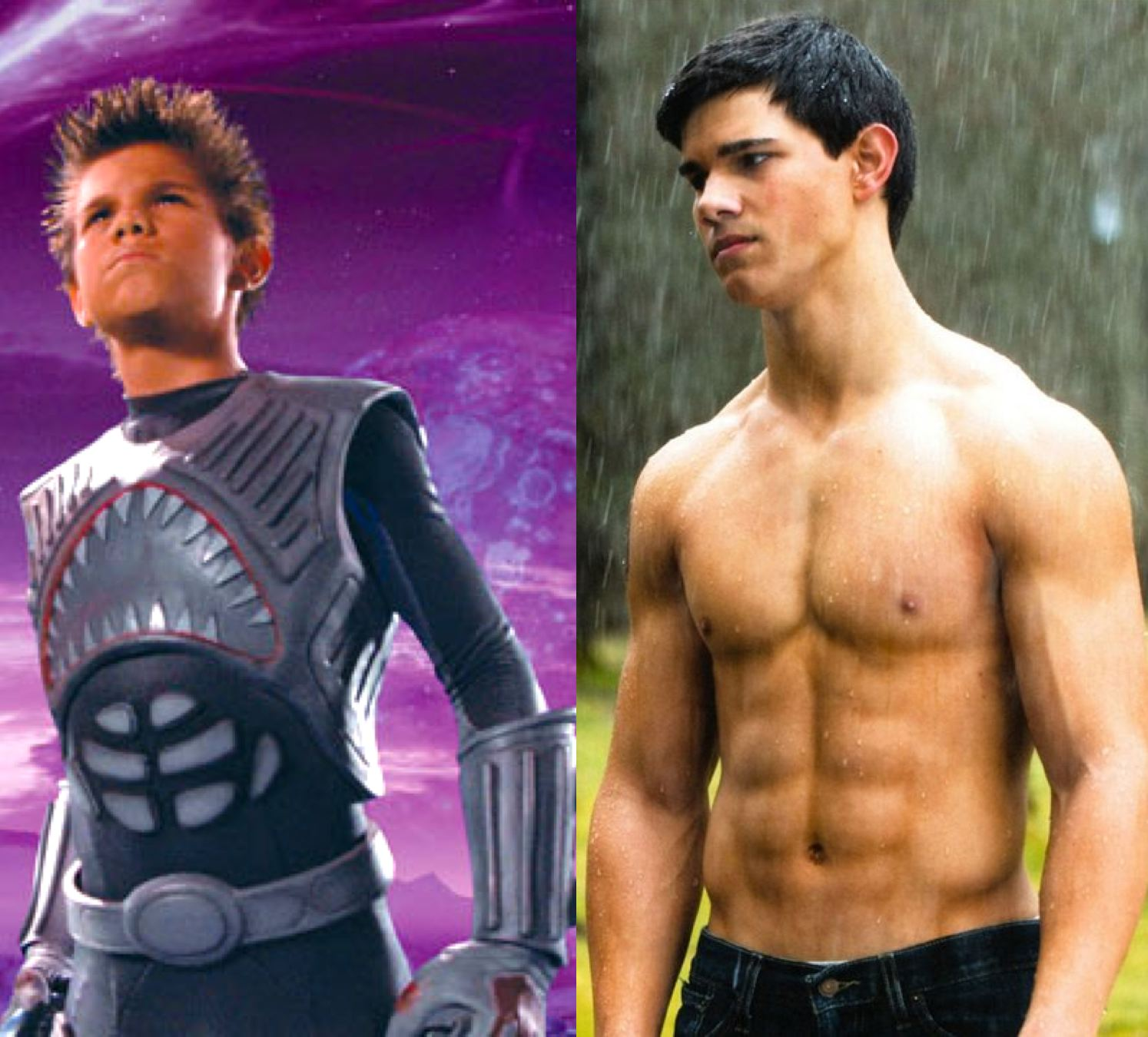Clearly taylor lautner abs doubtful