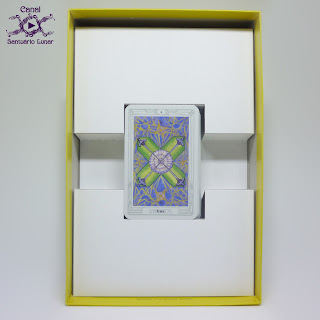 The Thoth Tarot (Sterling Ethos) - Box (Back)