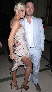 Sarah Harding with his ex-boyfriend Tom Crane