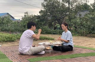 our little summer vacation variety show diperankan oleh jung yu mi dan choi woo-shik