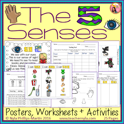 The Five Senses Activities