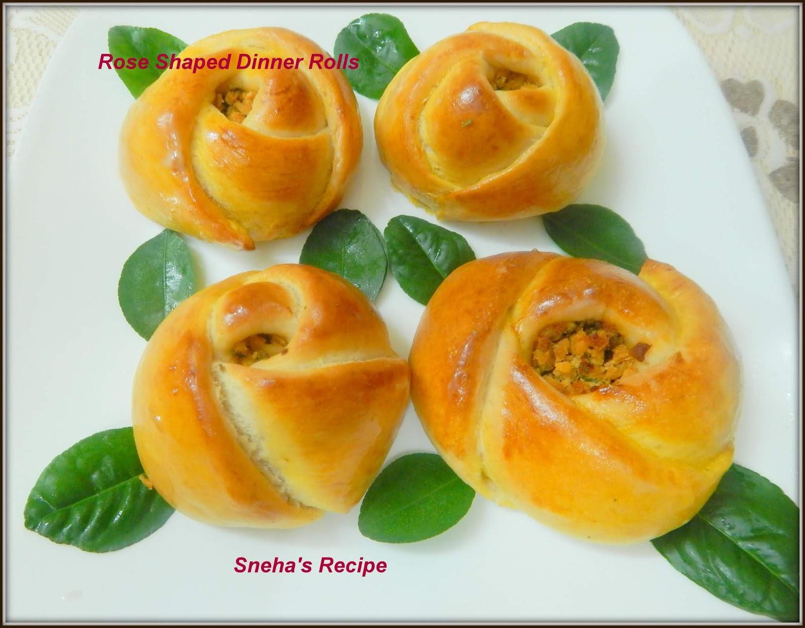 Rose Shaped Dinner Rolls Turkish Pogaca Pastry Breadbakers Sneha S Recipe