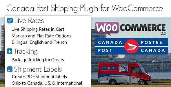 Canada Post Woocommerce Shipping Plugin v1.7.2