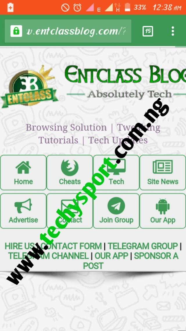 Entclass Blog Responsive Template Download