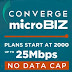 Coverge MicroBiz: Realible internet for your micro-business.