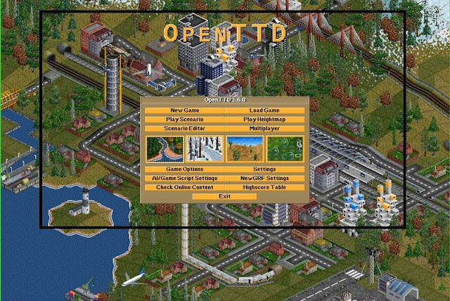 OpenTTD - Top 10 Old PC Games That Are Still Worth Playing
