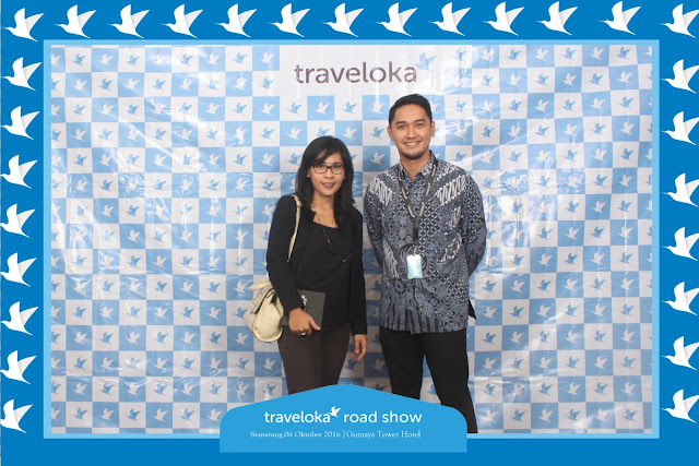 +0856-4020-3369 ; Jasa Photobooth Semarang ~Traveloka Roadshow~