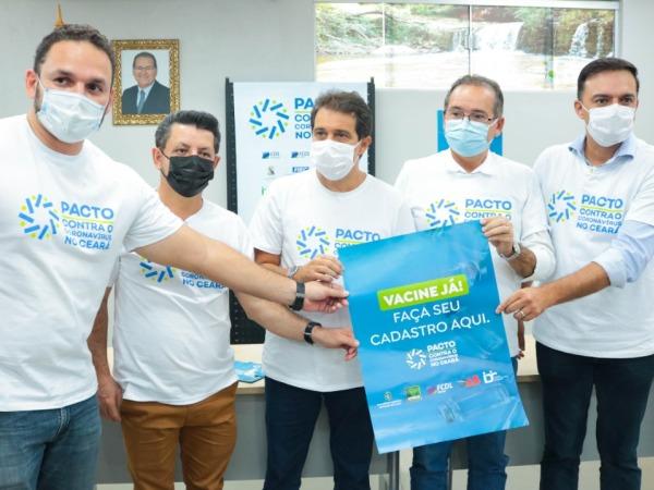 Crato recebe comitiva do Pacto contra o Coronavírus