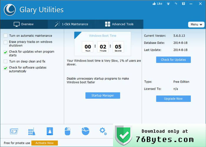 Glary Utilities Cracked Product Code Fix Patch