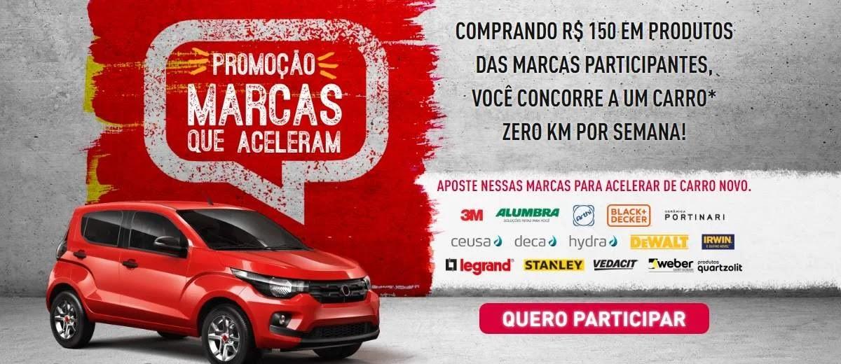 Promoção Tumelero Marcas Que Aceleram 1 Carro Novo Toda Semana