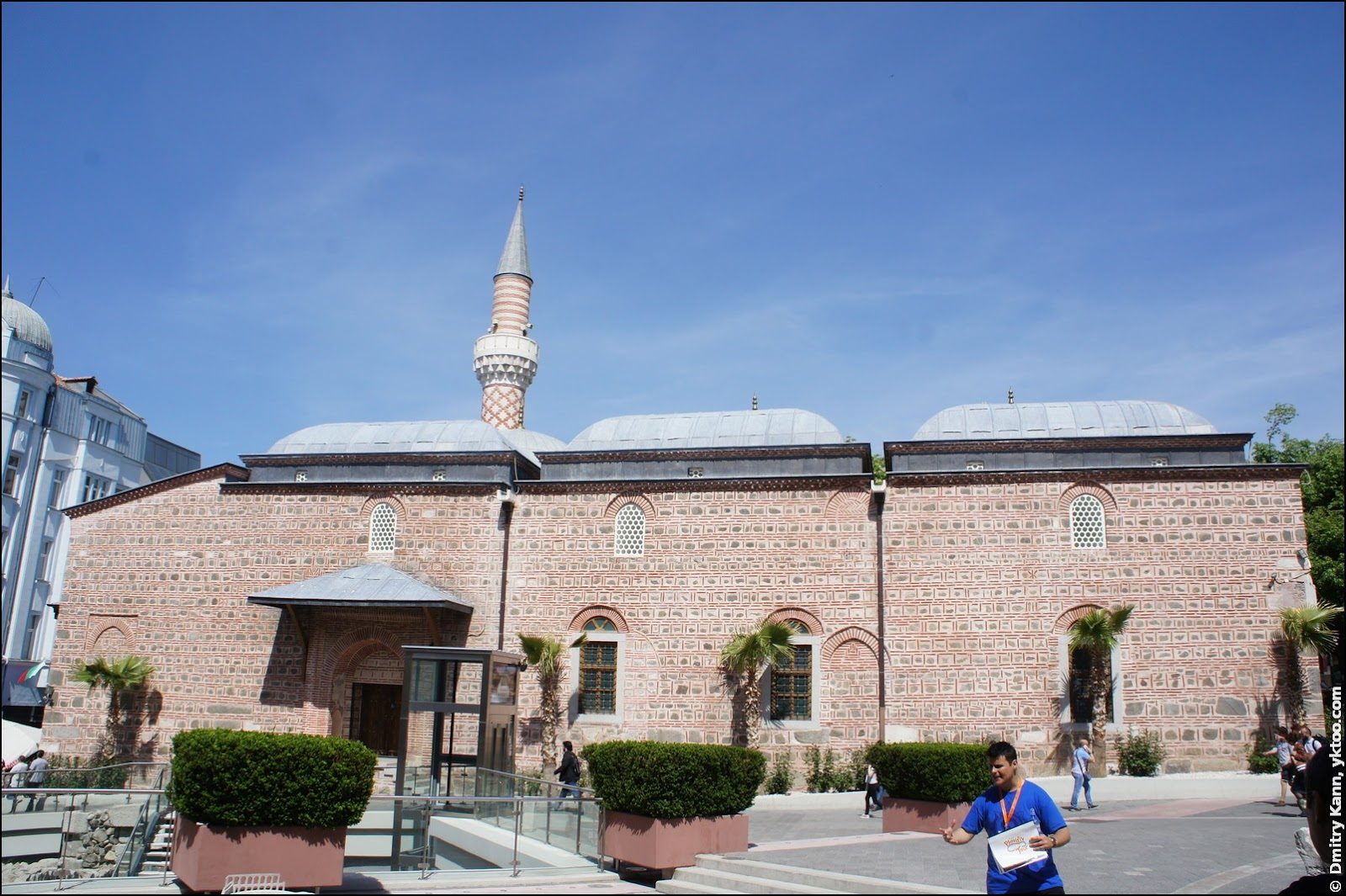 Dzhumaya Mosque.