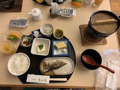 大仙家の朝食