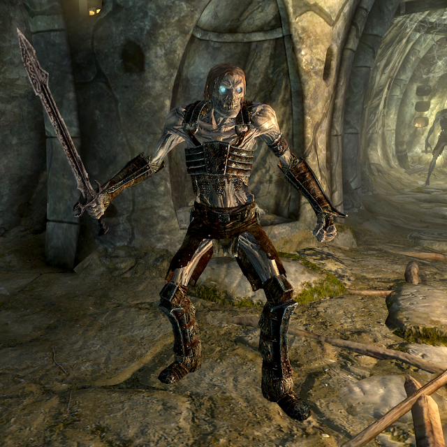 The Draugr of Skyrim