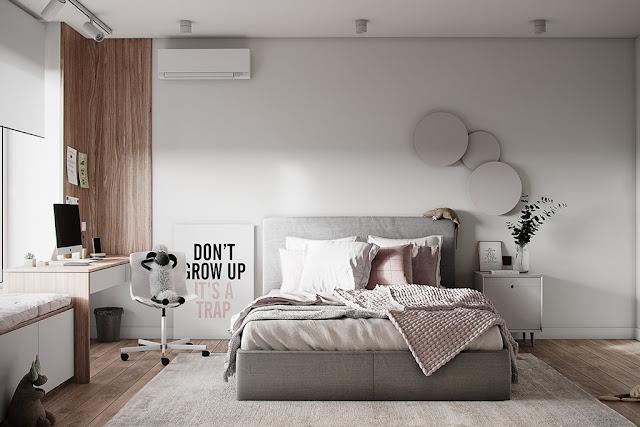 Thiết kế và thi công hoàn thiện nội thất căn hộ chung cư Sunshine Diamond River Quận 7 - Phòng Master