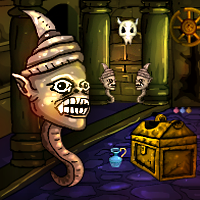 Play Games4Escape Halloween Challenge Door Escape
