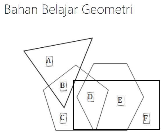 gambar bahan belajar geometri