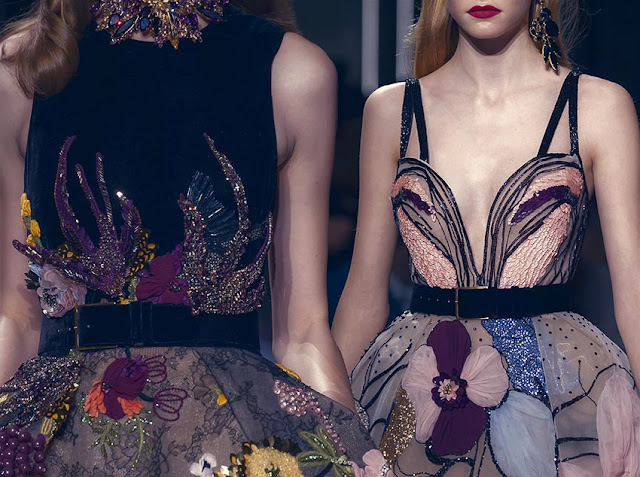 Elie Saab's F/W 2016 Couture is dreamy and sensual