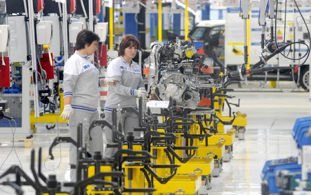 Macedonia's industrial output growth speeds to 5.3% y/y in May