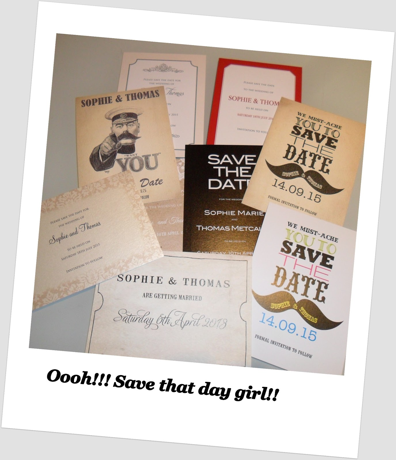 Save the Date Cards by Paper Themes