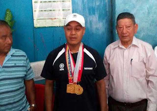 Kalimpong man Trilok Subba wins 3 gold medals in South Korea Taekwondo championship