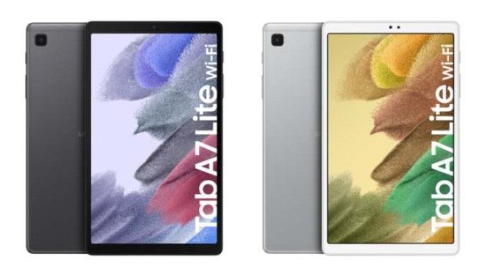 Colour choices for Samsung Galaxy Tab A7 Lite