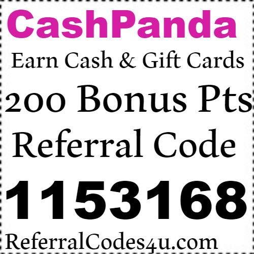 CashPanda App Referral Code, Sign Up Bonus, Reviews and Download 2021-2022