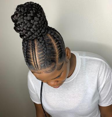 ghana weaving styles Ghana Braids Styles: Most Elegant Braided Hairstyles for ladies – 20 Pictures