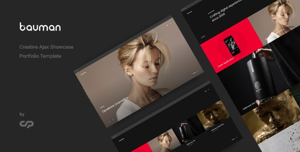 Creative Ajax Portfolio Template