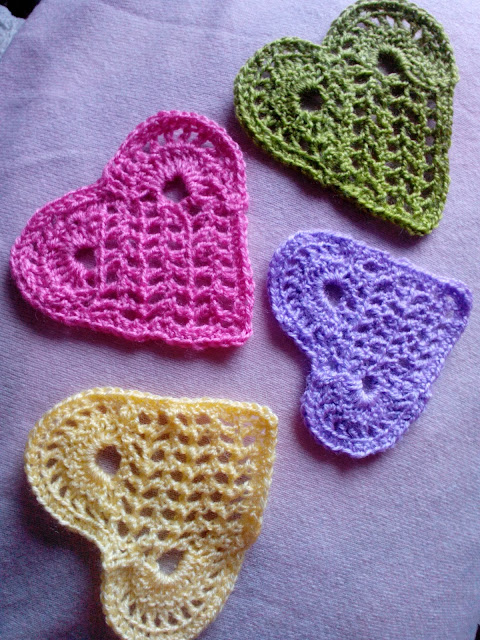 Crochet heats M'made