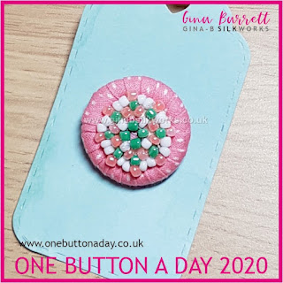 Day 208 : Princess - One Button a Day 2020 by Gina Barrett