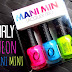 ORLY NEON MANI MINI LACQUER TRIO - REVIEW & SWATCHES