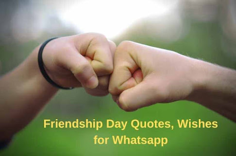 Top Friendship Day Quotes, Wishes for Whatsapp