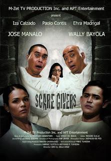 Scaregivers is a 2008 Filipino horror-comedy film written by Jourdan Sebastian and directed by Uro Q. dela Cruz, starring Wally Bayola and Jose Manalo.